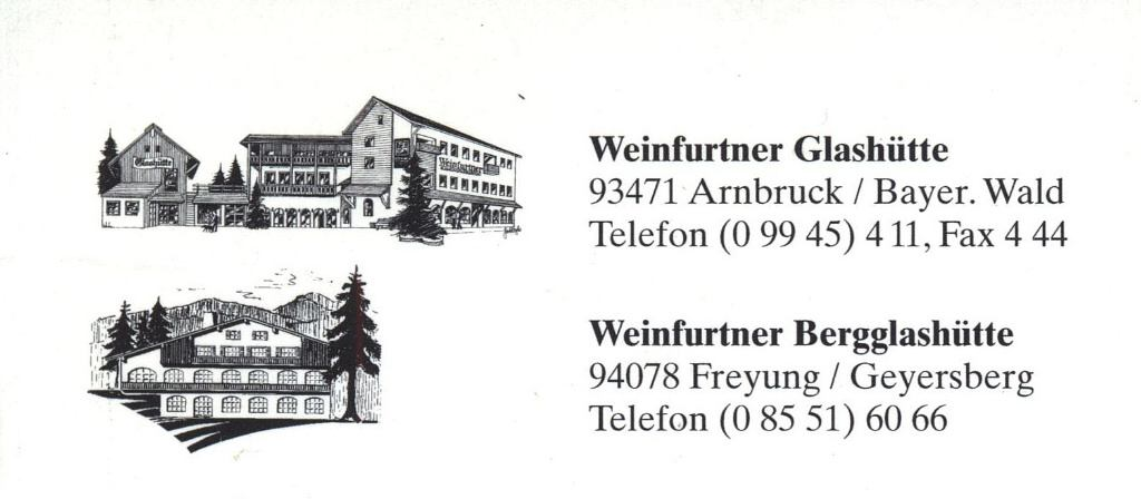 """Weinfurtner Glashütte<br>(back)"""