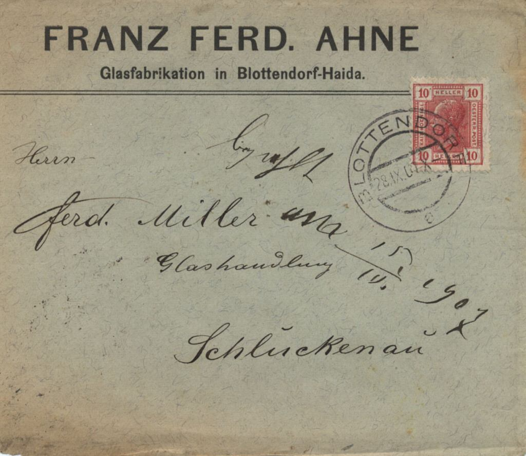 """Franz Ahne 1907 (front)"""