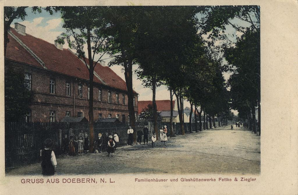 """Glasmacher-Siedlung 1905"""