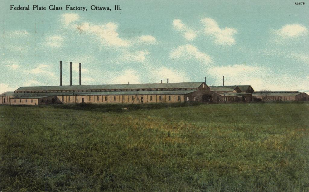 """Plate Glass Factory 1910"""