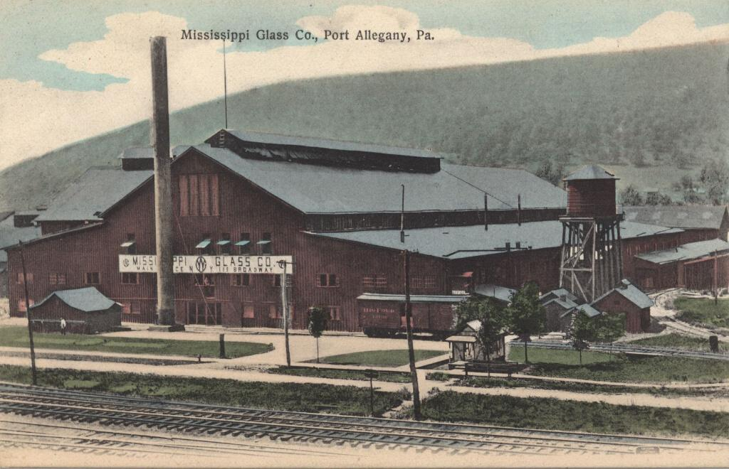 """Mississippi Glass 1910"""