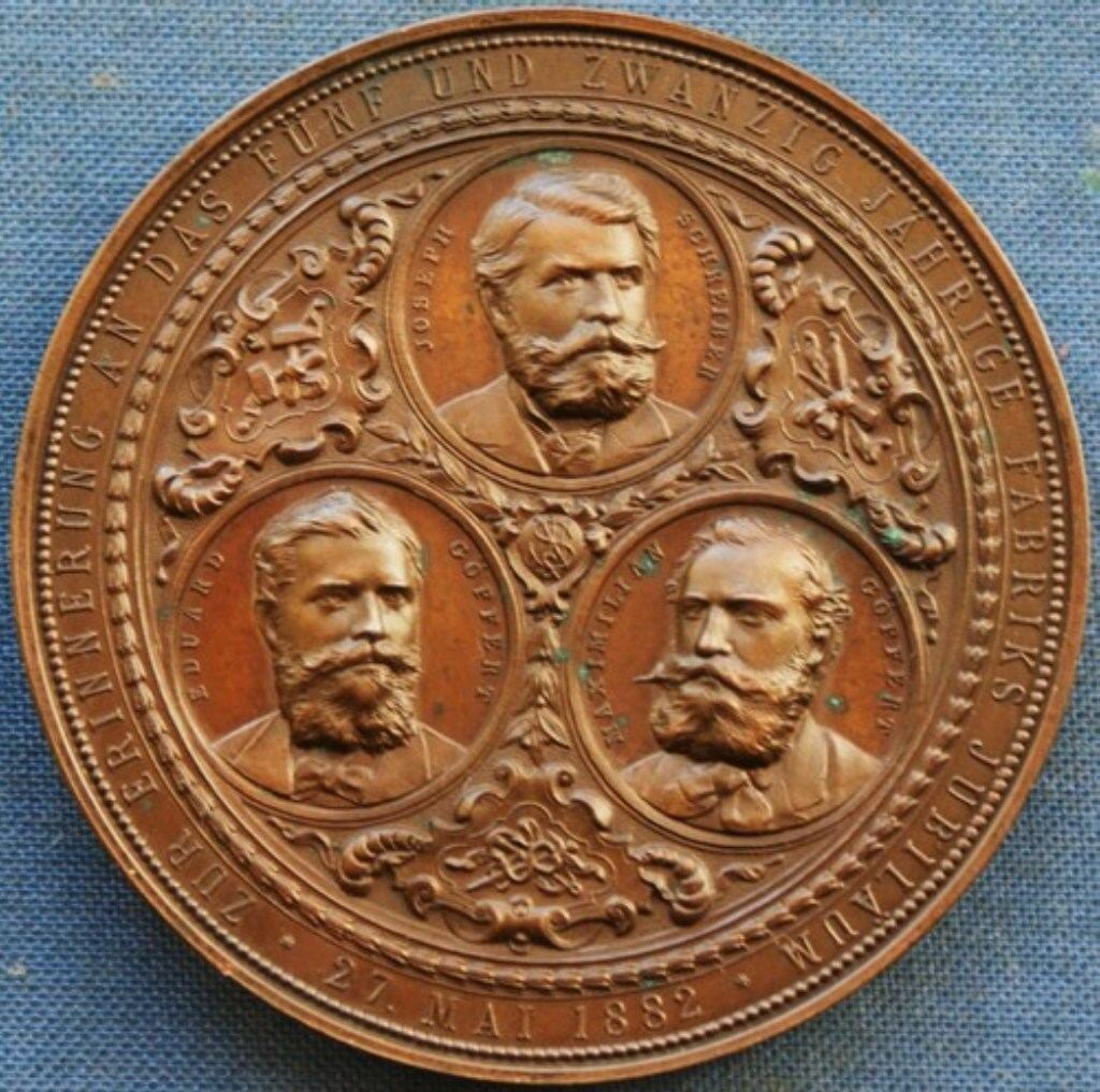 """Medaille 1882 (front)"""