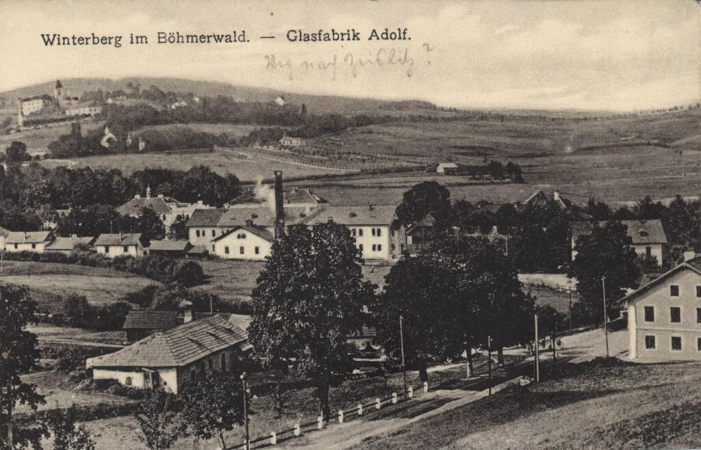 """Glasfabrik Adolf 1910"""
